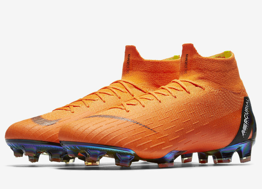 Nike Mercurial Superfly 360 Elite FG - Total Orange / Total Orange / Volt / White