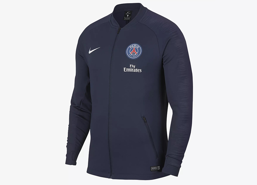 Nike Paris Saint-Germain Anthem Jacket - Midnight Navy / Midnight Navy / Loyal Blue / White