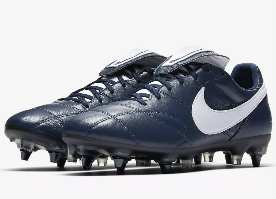 d3d582ca977f4 Nike Premier II Anti-Clog Traction SG-PRO - Midnight Navy   Midnight Navy    White