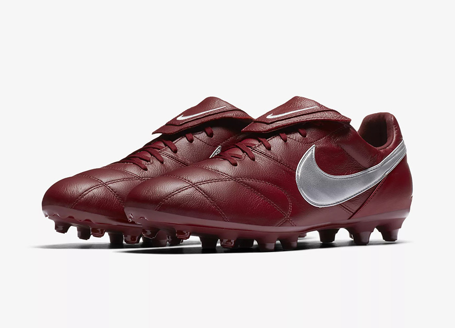 Nike Premier II FG Rising Fire - Team Red / Team Red / Metallic Silver