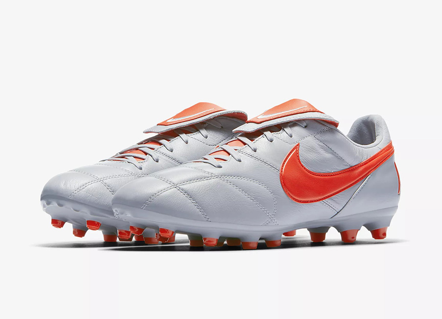 Nike Premier II FG - Wolf Grey / Wolf Grey / Light Crimson