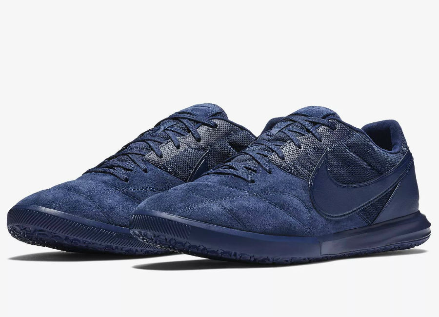 Nike Tiempo Premier II Sala IC - Midnight Navy / White / Midnight Navy