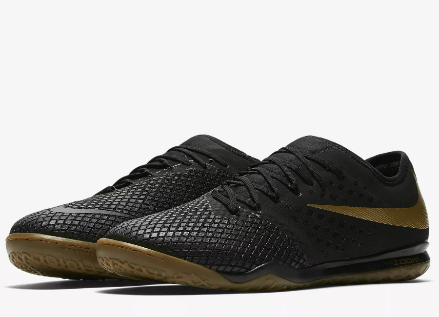 the best attitude 8c3fc d428e closeout nike zoom hypervenom iii pro ic game of gold black metallic vivid  gold ed022 ea934