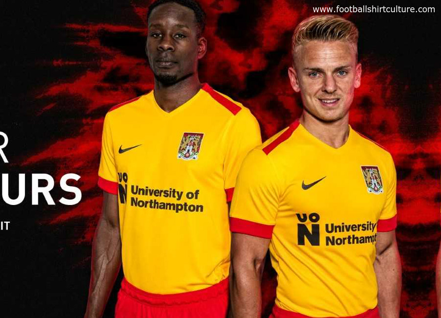 Northampton Town 2018-19 Nike Away Kit