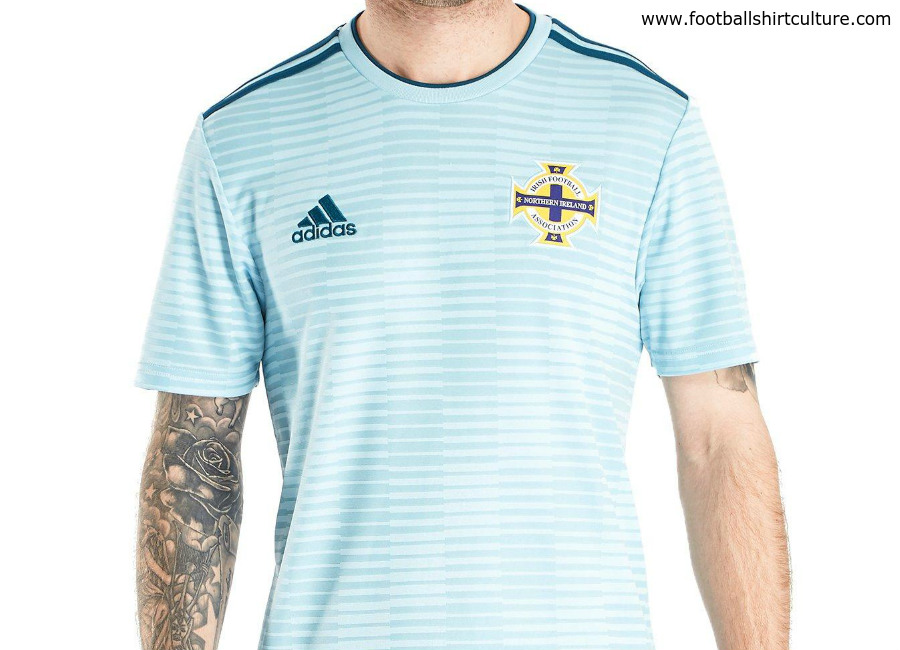151e29ac5914ba Northern Ireland 2018 Adidas Away Kit | 17/18 Kits | Football shirt blog