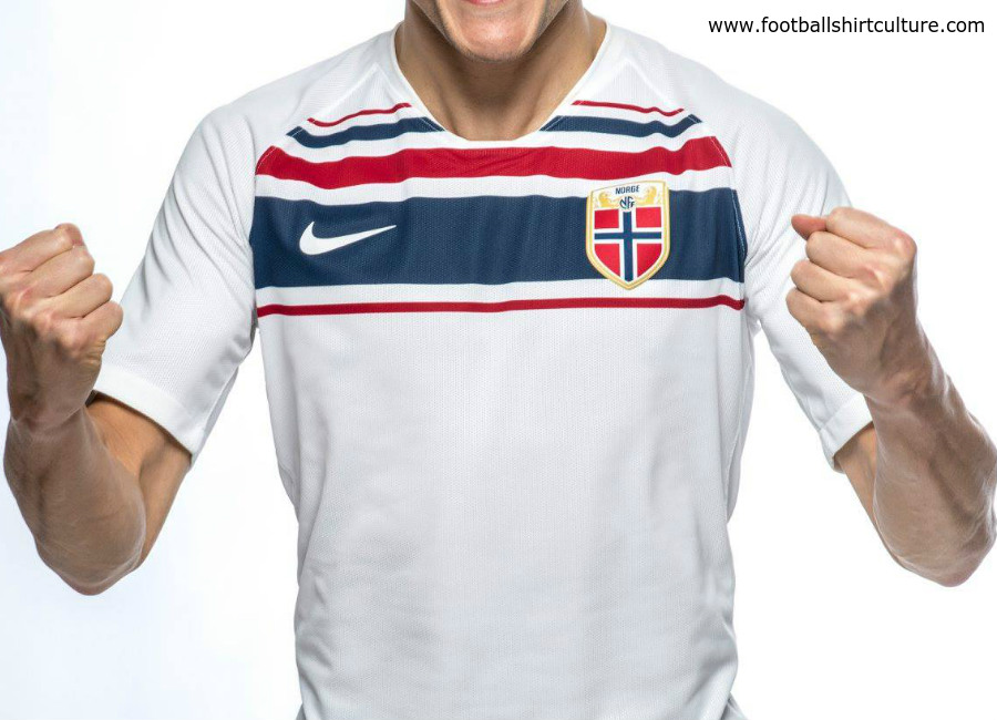 Norway 2018 Nike Away Kit