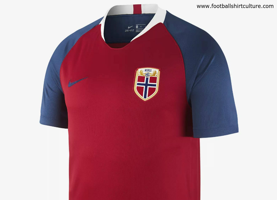 Norway 2018 Nike Home Kit