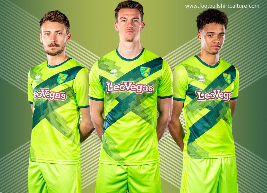 722c7dfeab0 Norwich City 2018-19 Errea Third Kit