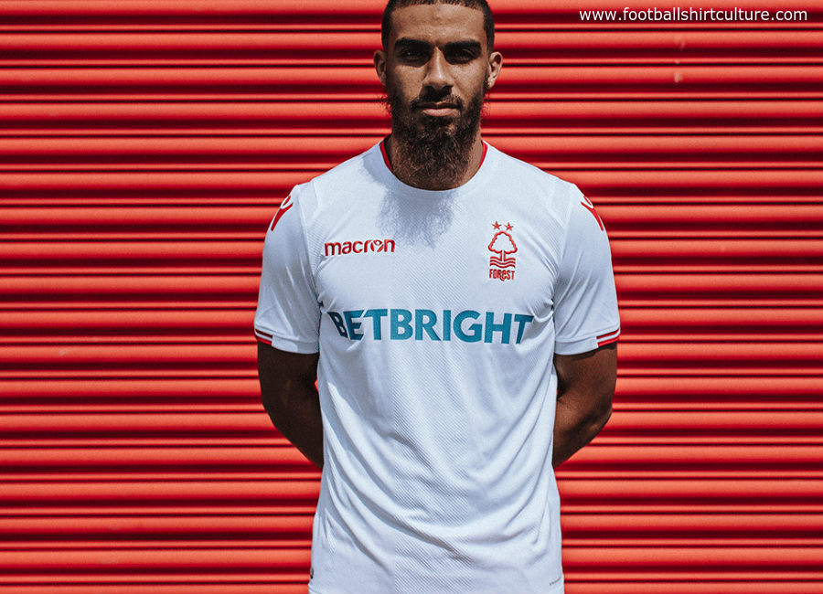 Nottingham Forest 2018-19 Macron Away Kit