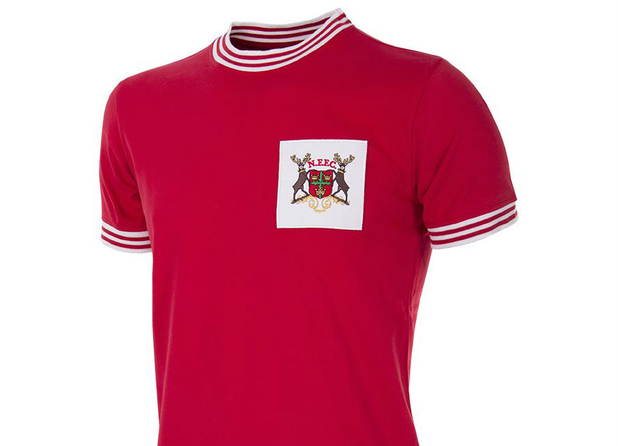 Nottingham Forest 1966 1967 Copa Retro Home Shirt