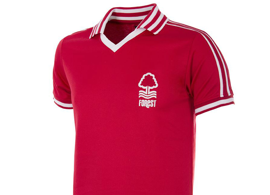 Nottingham Forest 1976 1977 Copa Retro Home Shirt