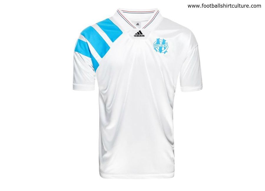 Olympique de Marseille 1993 Adidas Home Retro Shirt