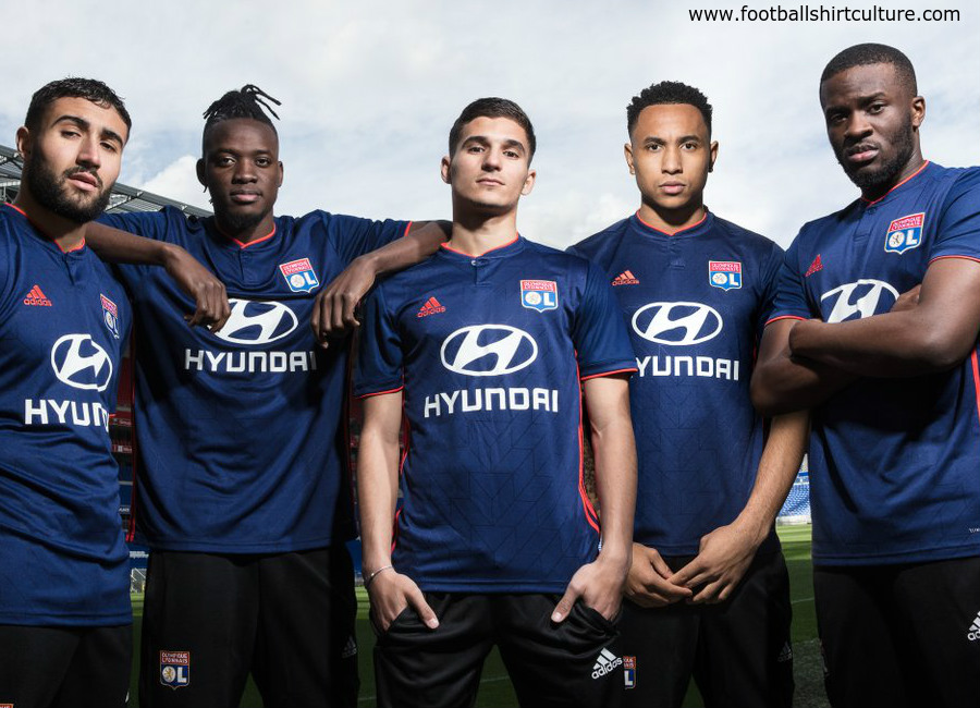 Olympique Lyon 2018 19 Adidas Away Kit  24b3ddc6d