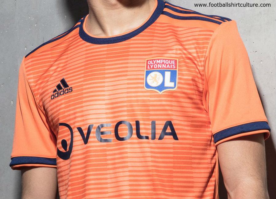 Olympique Lyon 2018-19 Adidas Third Kit  4d8b75286