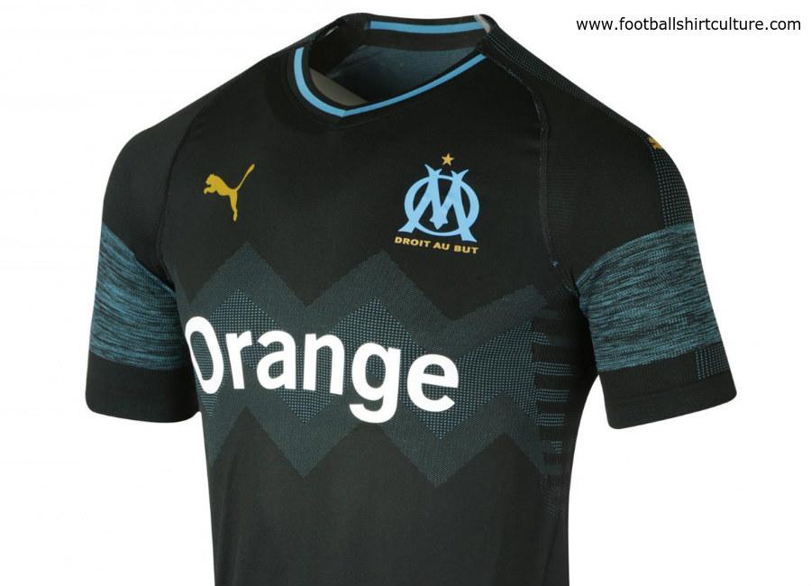 wholesale dealer 380d3 e2b35 Olympique Marseille 2018/19 Puma Away Kit | 18/19 Kits ...