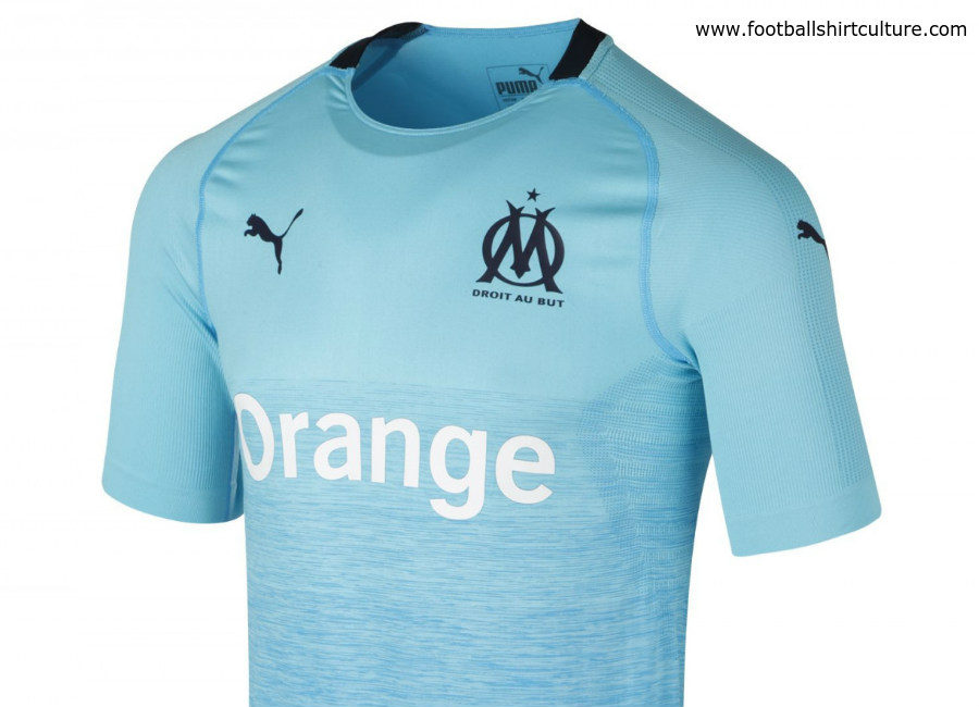 premium selection 8ed33 00b56 Olympique Marseille 2018/19 Puma Third Kit | 18/19 Kits ...