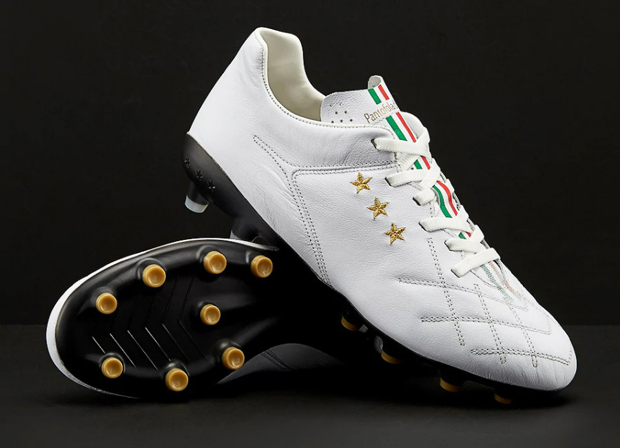 Pantofola d'Oro Superleggera FG - White / Black / Gold