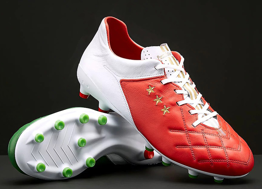 Pantofola D'Oro Superleggera Italian Flag LC - White / Green / Red