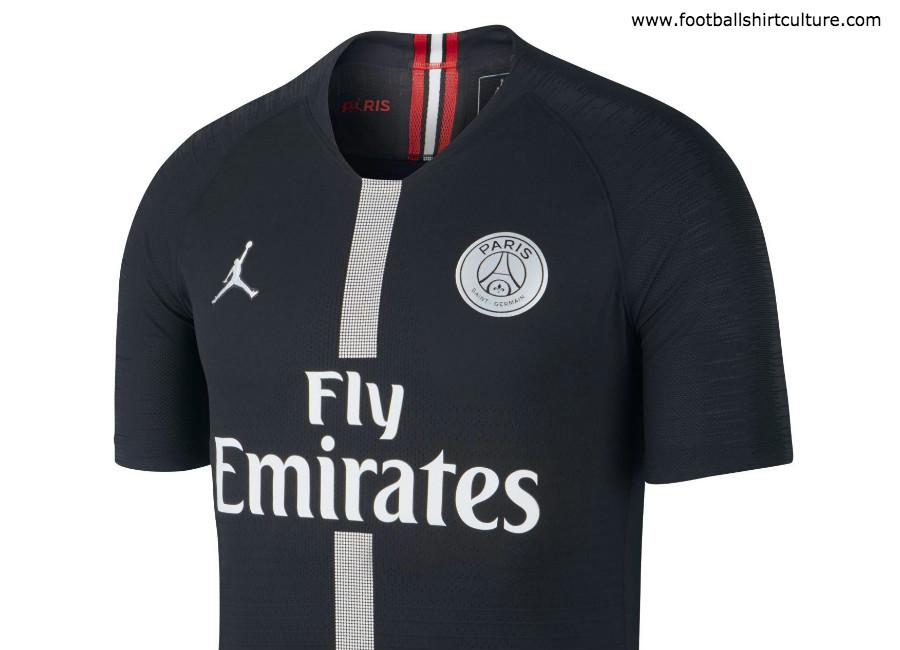size 40 f1669 3542e Paris Saint-Germain 2018-19 Jordan Third Kit | 18/19 Kits ...
