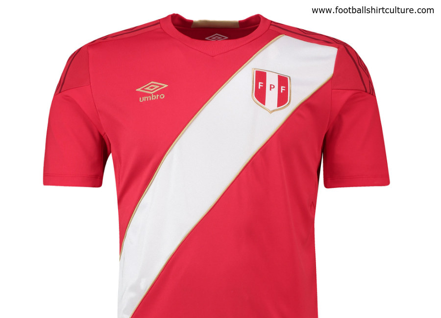 Peru 2018 World Cup Umbro Away Kit