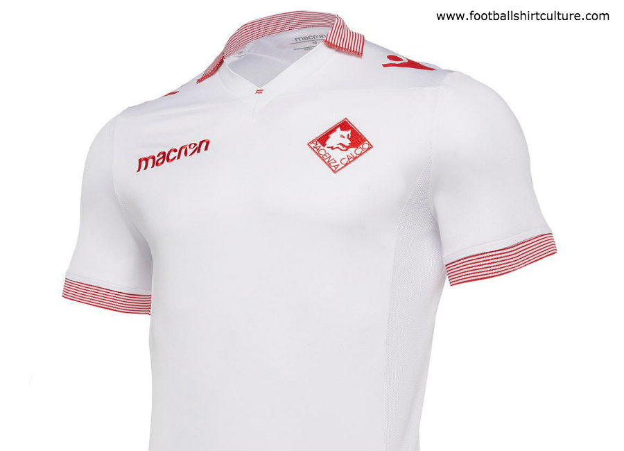 Piacenza 2018-19 Macron Away Kit