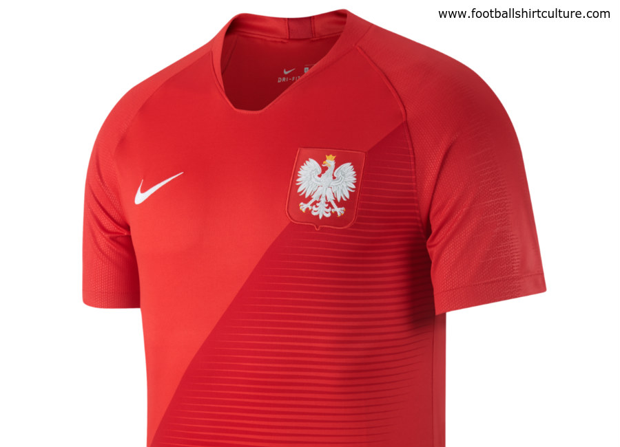 Poland 2018 World Cup Nike Away Kit