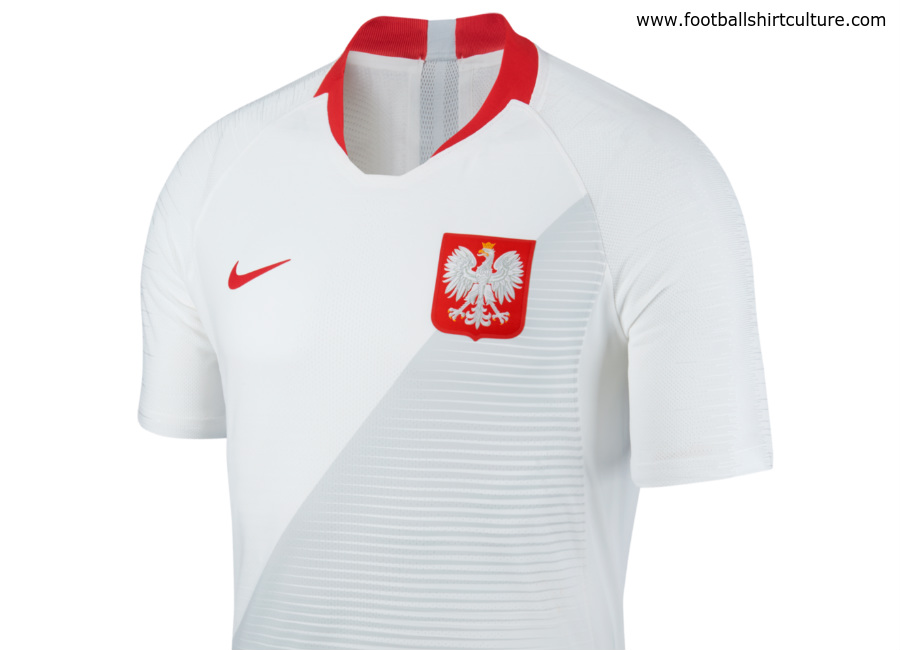 Poland 2018 World Cup Nike Home Kit