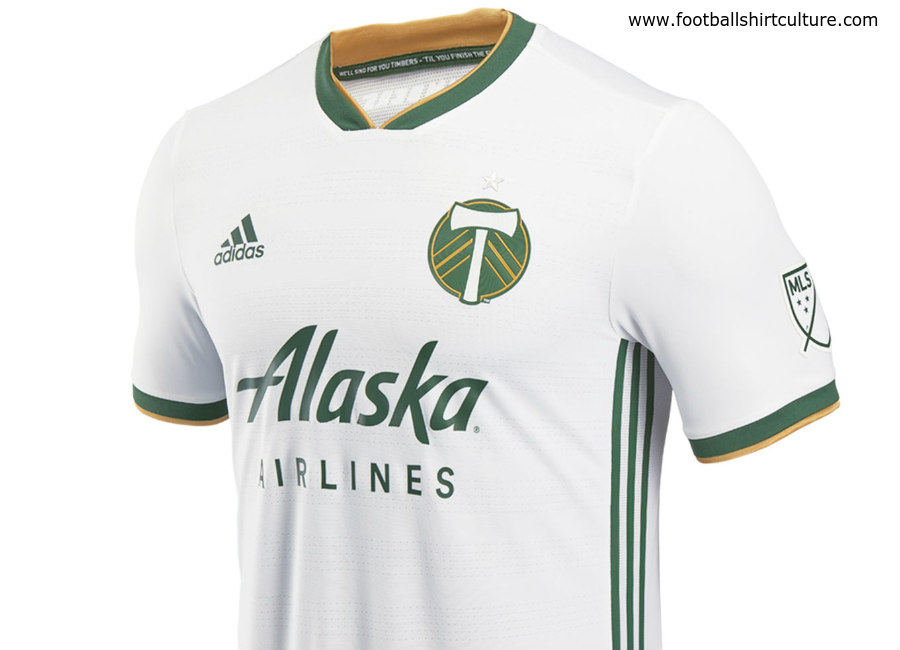 buy popular a6c83 50289 Portland Timbers 2018 Adidas Away Kit | 17/18 Kits ...