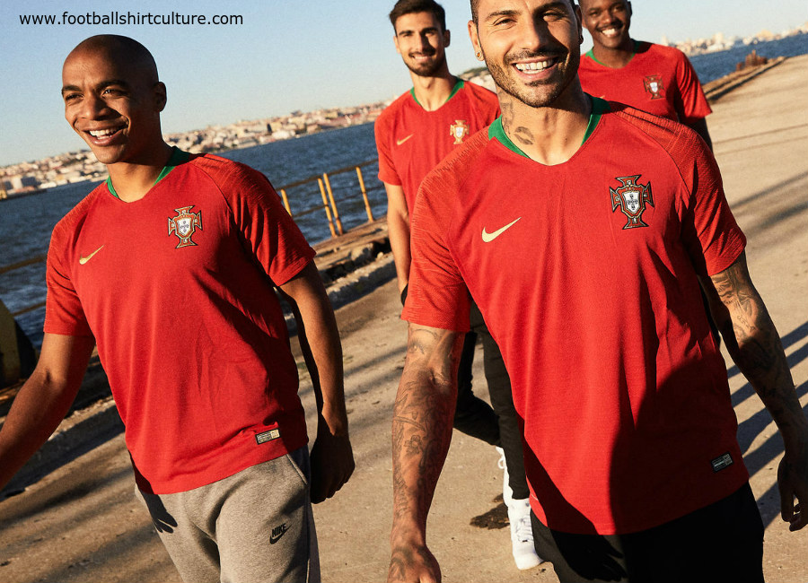 b1cae9164 Portugal 2018 World Cup Nike Home Kit