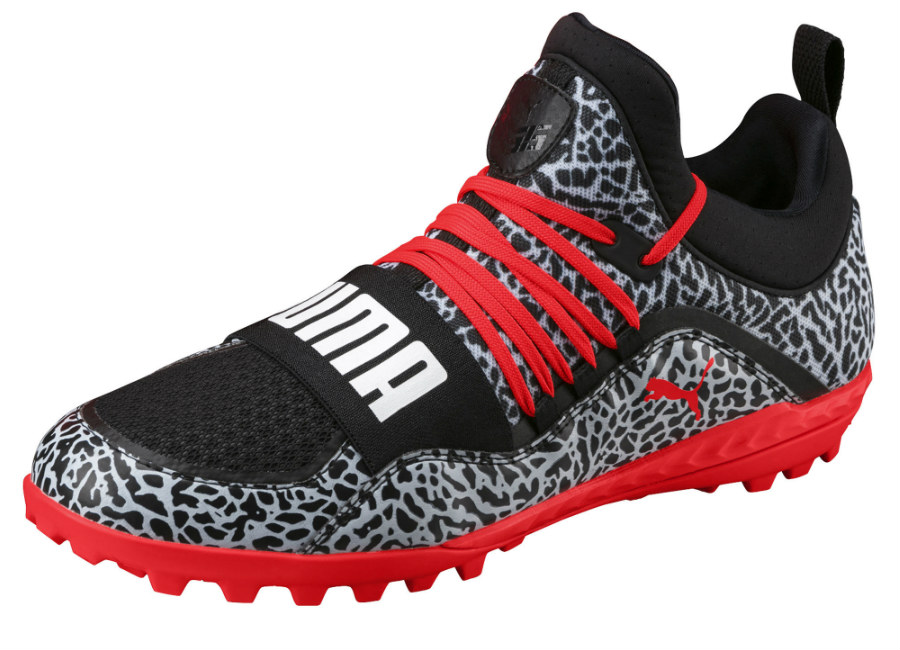 Puma 365.18 Ignite Texture ST - Black / Red / White
