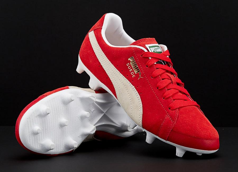 Puma Future Suede 50 hyFG - Puma Red / Puma White
