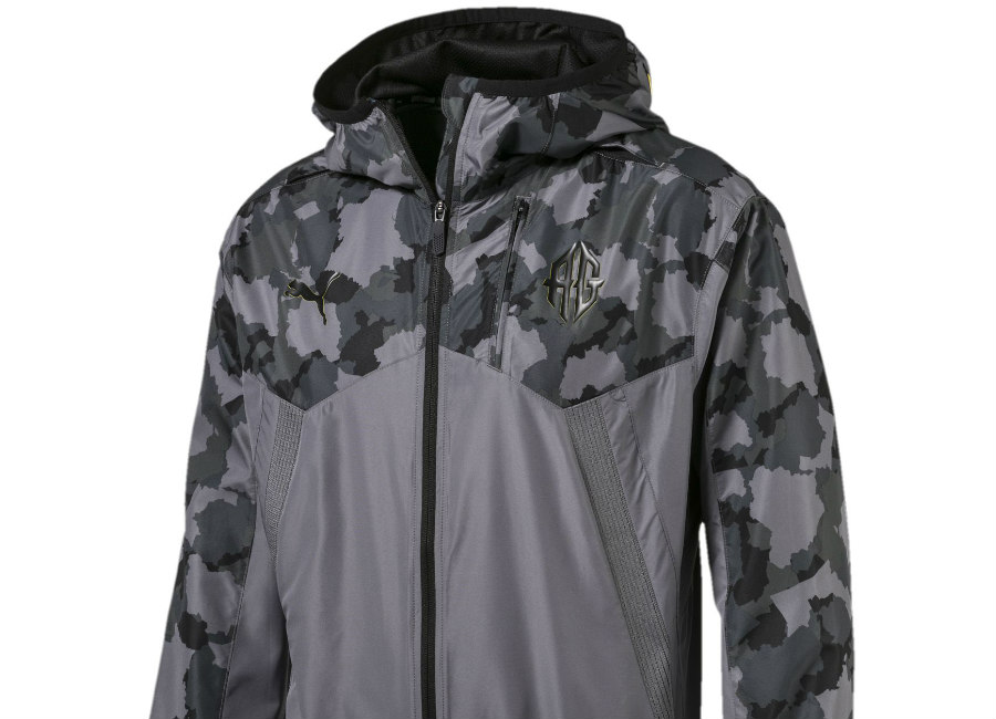 Puma Griezmann Special Edition Vent Jacket - Quiet Shade / Black / Yellow