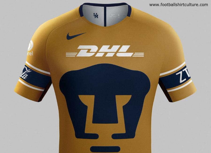 Pumas UNAM 2018 Nike Third Kit