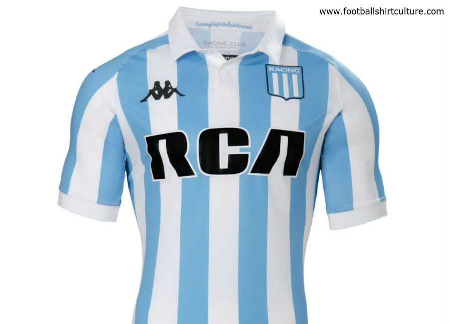 Racing Club 2018 Kappa Home Shirt