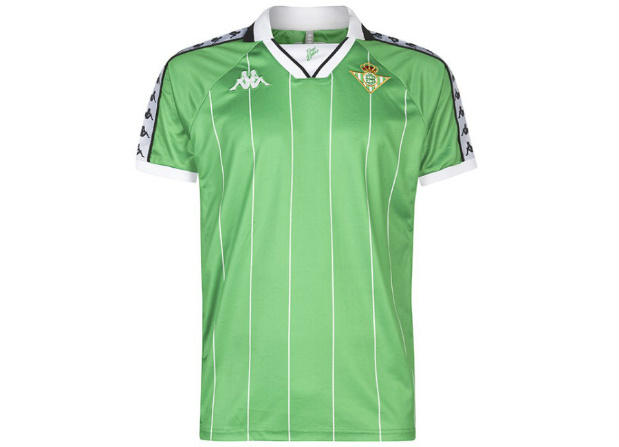 Real Betis 18/19 Kappa Retro Jersey - Green