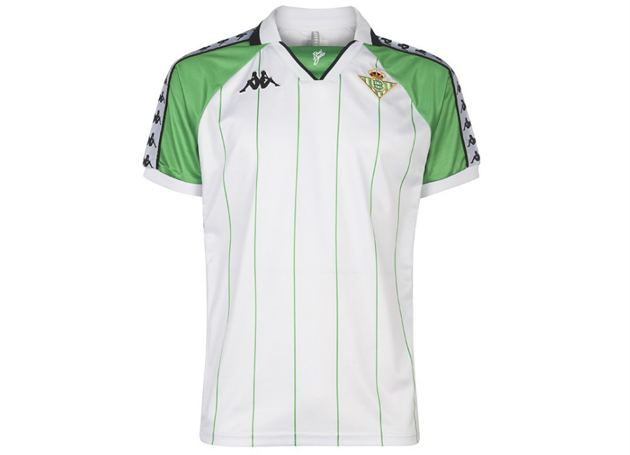 Real Betis 18/19 Kappa Retro Jersey - White