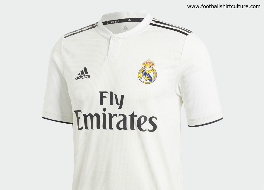 official photos 25799 55316 Real Madrid 2018-19 Adidas Home Kit | 18/19 Kits | Football ...