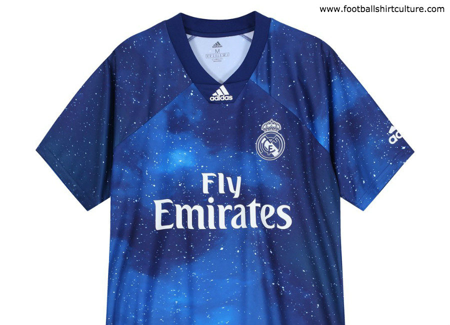 hot sales 46a9b 81277 Real Madrid X Adidas X Fifa 19 Digital Fourth Kit | 18/19 ...