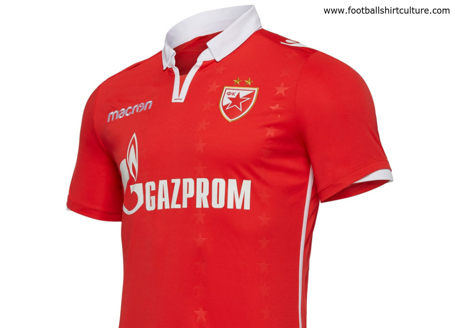 Red Star Belgrade 2018-19 Macron Third Kit