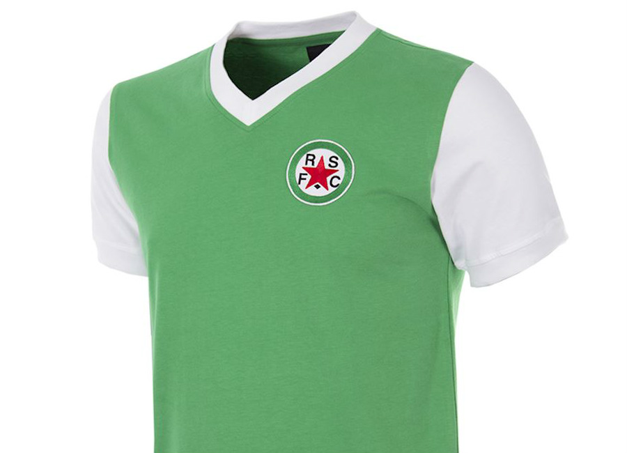 Red Star FC 1970s Copa Retro Football Shirt