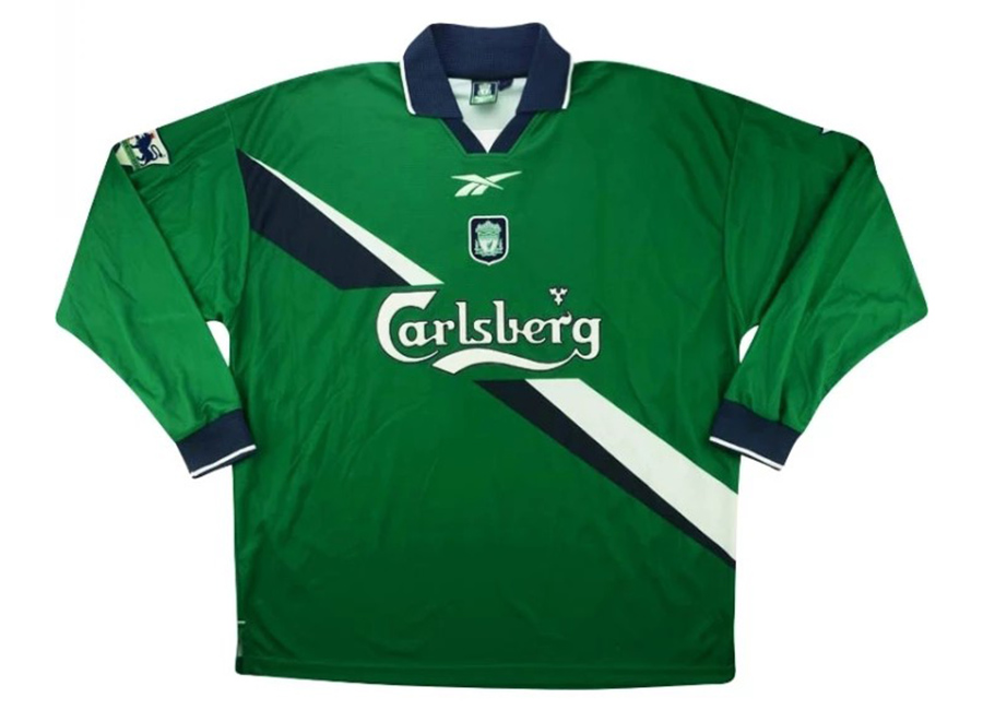 Reebok 1999-00 Liverpool Match Issue Away Shirt