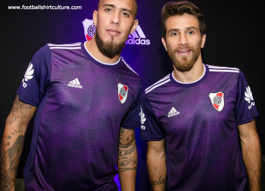 River Plate 2018-19 Adidas Away Kit