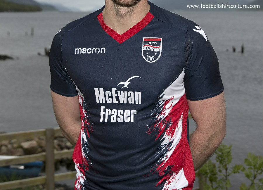 Ross County 2018-19 Macron Home Kit