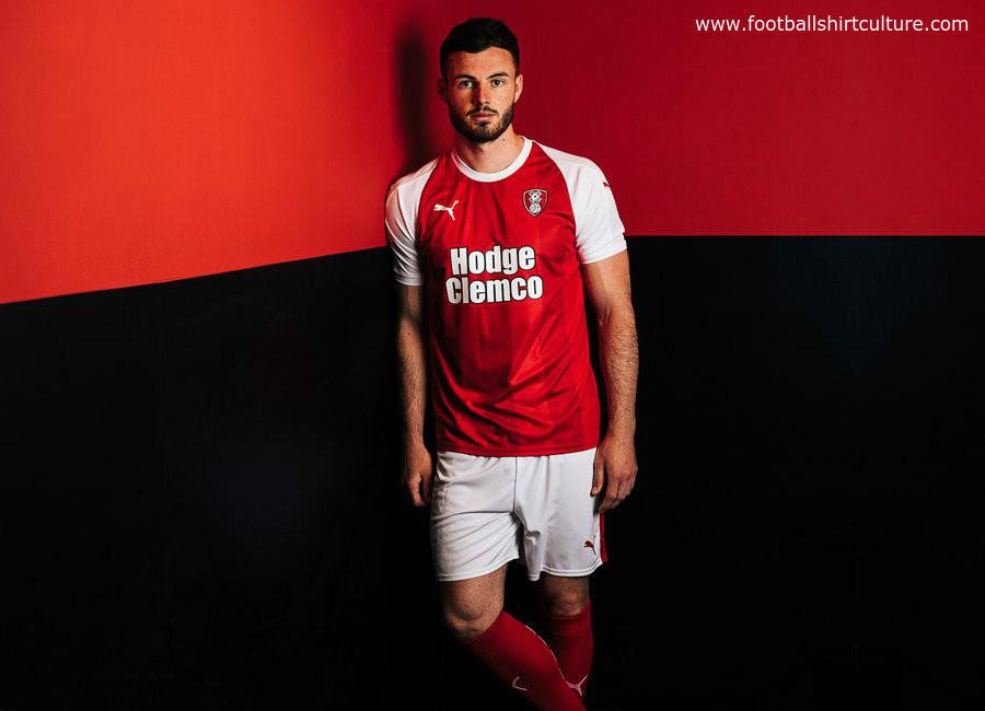 Rotherham United 2018-19 Puma Home Kit