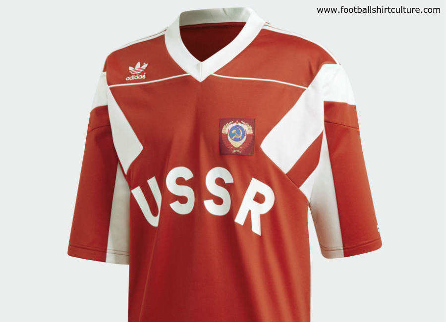 Russia 1991 Adidas Originals Home Replica Jersey