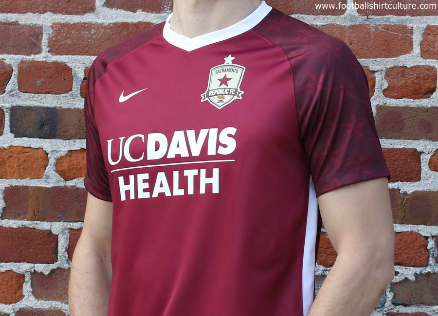 Sacramento Republic 2018 Nike Home Kit