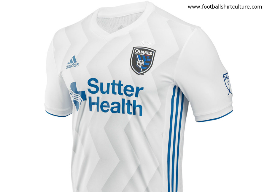 San Jose Earthquakes 2018 Adidas Away Kit