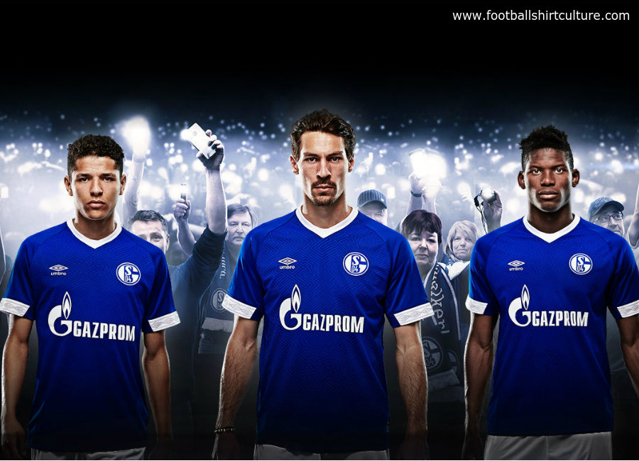 97138df6c4b Schalke 04 2018-19 Umbro Home Kit