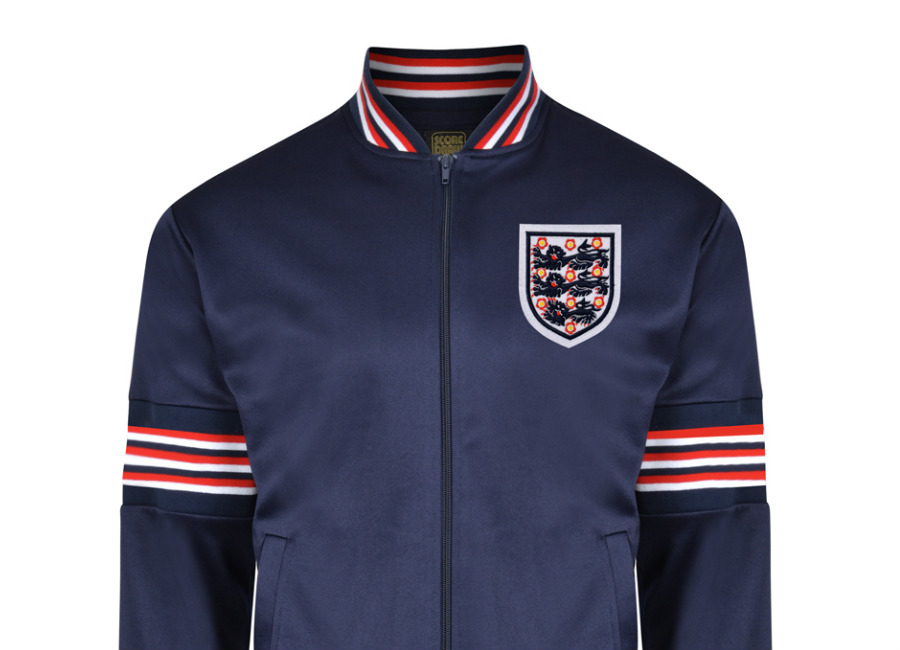 Score Draw England 1974 Empire Navy Track Jacket