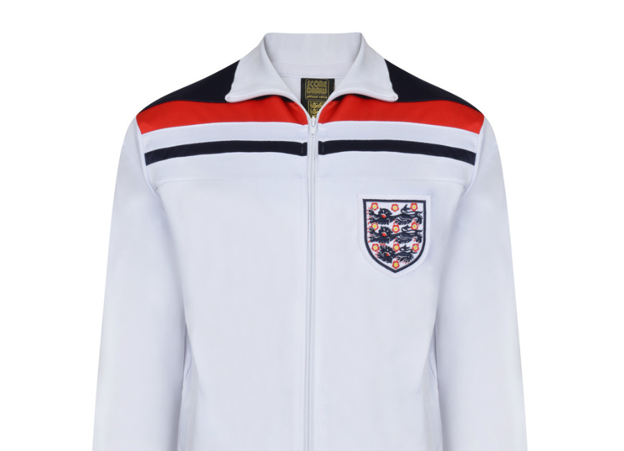 Score Draw England 1982 Empire White Track Jacket